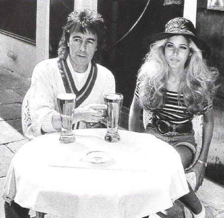 Bill Wyman and Mandy Smith