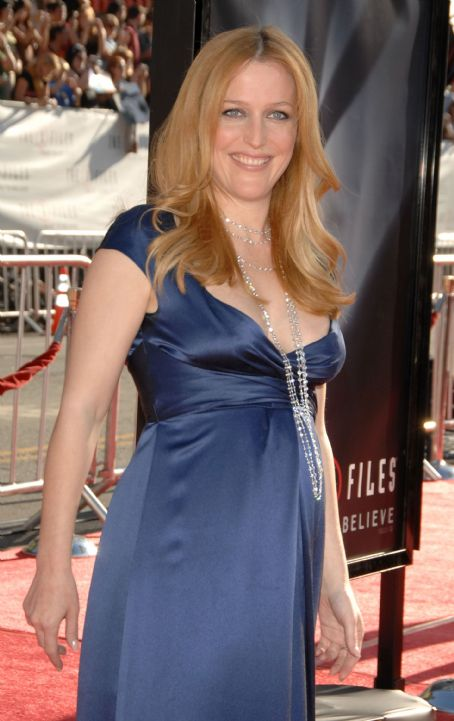 The X-Files Gillian Anderson -
