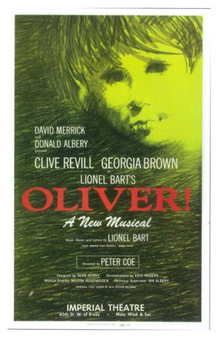 Georgia Brown Oliver, 1963 Poster