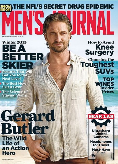 Gerard Butler - Men's Journal Magazine Cover [United States] (November 2012)