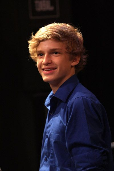 Cody Simpson  performed at the Q102 Studio Session today, April 25 at the Xfinity Performace Space in Bala-Cynwyd, PA.