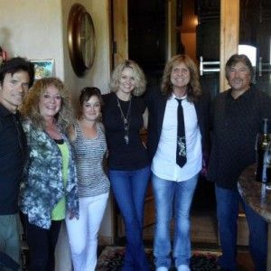David Coverdale and Cindy Coverdale David & Cindy with friends