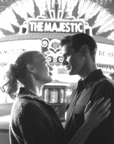 Laurie Holden  and Jim Carrey in Castle Rock's The Majestic - 2001