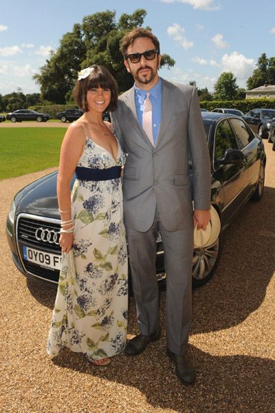 Chris O'Dowd  with Girlfriend Dawn Porter