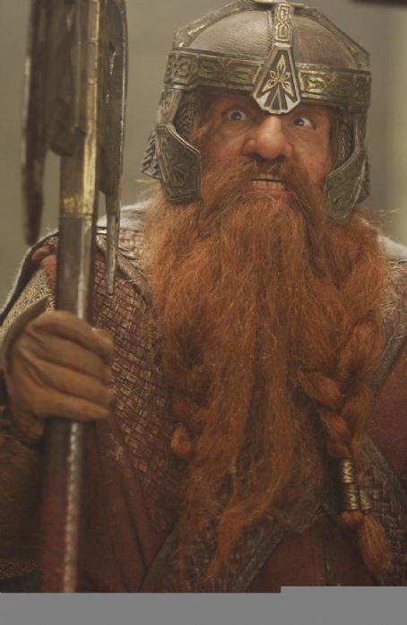 John Rhys-Davies  as Gimli in New Line's The Lord of The Rings: The Two Towers - 2002