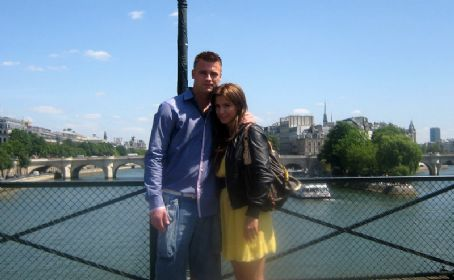 Artur Boruc and Sara Mannei