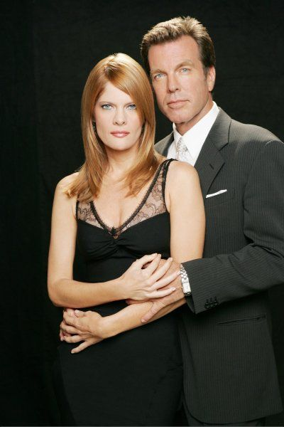 Peter Bergman and Michelle Stafford