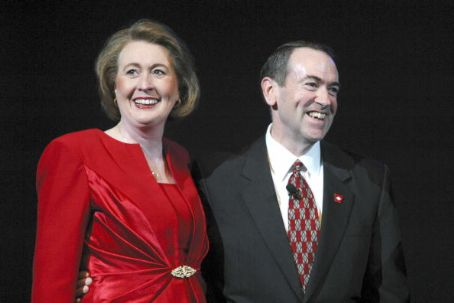 Mike Huckabee  and Janet McCain
