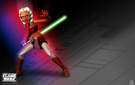 Ashley Eckstein Star Wars: The Clone Wars Wallpaper