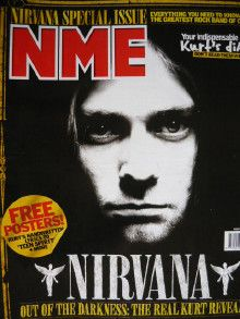 Kurt Cobain - New Musical Express Magazine Cover [United Kingdom] (9 November 2000)