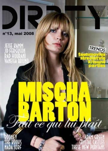 Mischa Barton - Dirrty Glam Magazine Cover [France] (May 2008)