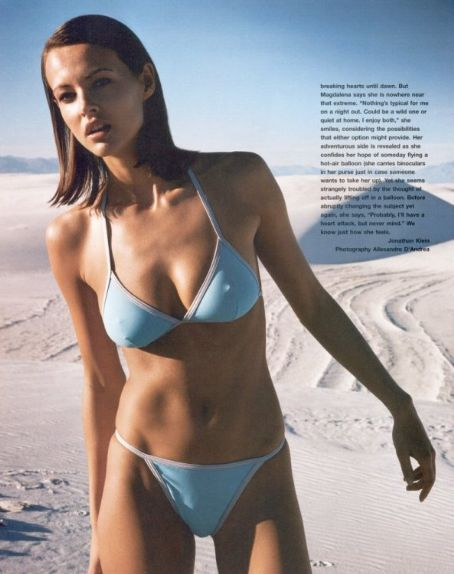 Magdalena Wrobel  Gear Magazine Pictorial June 2002 United States