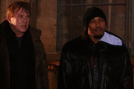 Tom Berenger  as Steven Luisi and Sticky Fingaz as Richard Allen in crime drama 'Breaking Point.'
