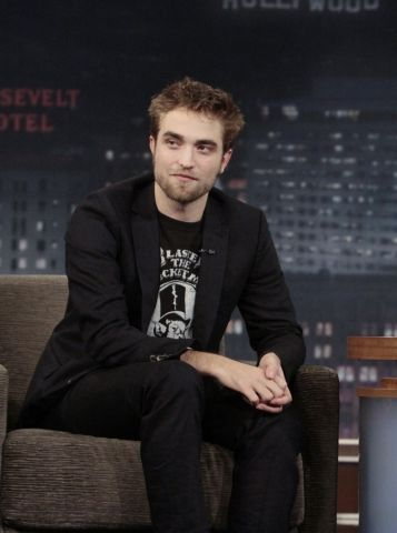 Robert Pattinson on 'Jimmy Kimmel Live'