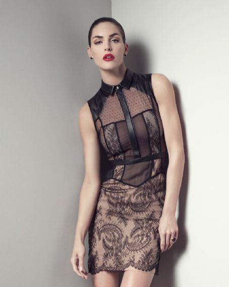 Hilary Rhoda for Bergdorf Goodman Spring 2013