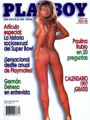 Ulrika Eriksson - Playboy Magazine Cover [Mexico] (January 1997)