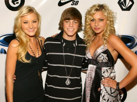 AJ Michalka and ryan sheckler