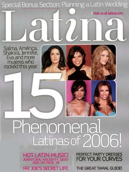 Salma Hayek - Latina Magazine [United States] (January 2007)