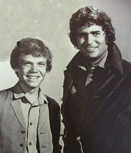Mitch Vogel  & Michael Landon