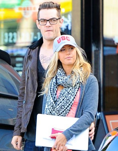 Ashley Tisdale Steps Out With New Boyfriend Christopher French
