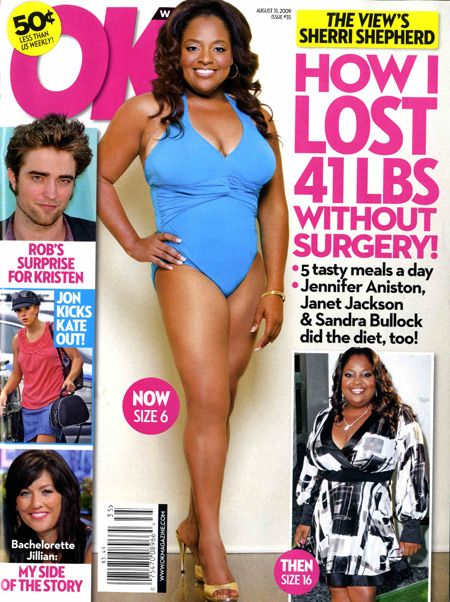 Sherri Shepherd - OK! Magazine [United States] (31 August 2009)