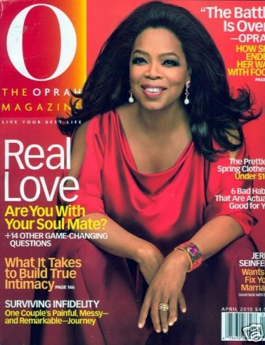 Oprah Winfrey - O, The Oprah Magazine [United States] (April 2010)