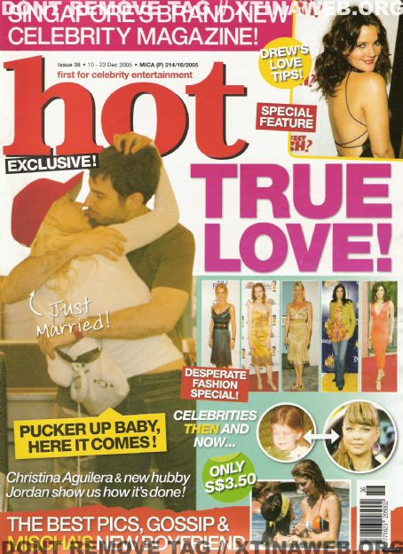Christina Aguilera - HOT! Magazine [Singapore] (10 December 2005)