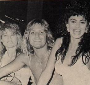 Pamela Manning Vince Neil and friends