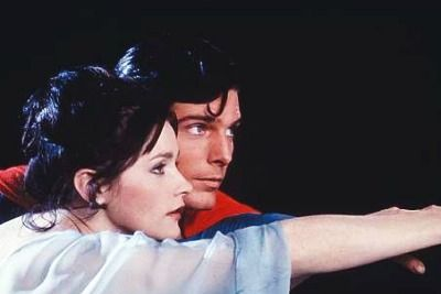 Superman Margot Kidder and Christopher Reeve