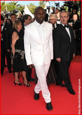 Jimmy Jean-Louis Celebrities walk the red carpet at the 'Che' premiere at the 61st International Cannes Film Festival on May 21, 2008