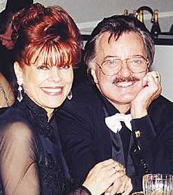 Robert Goulet Vera Goulet with her husband