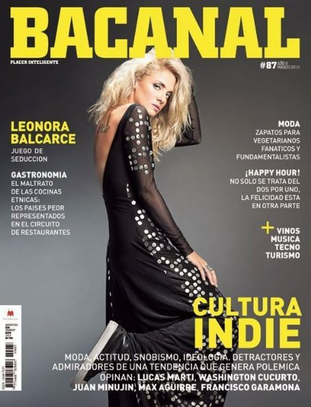Leonora Balcarce - Bacanal Magazine Cover [Argentina] (March 2012)