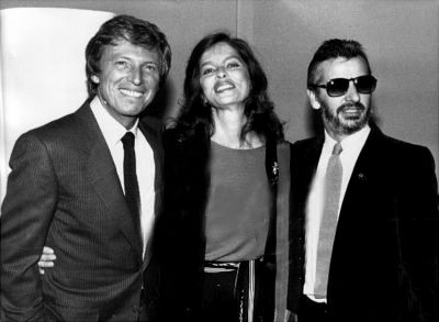 Ringo Starr and Barbara Bach with Tommy Steele