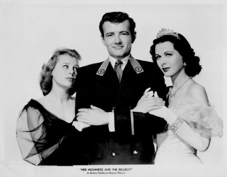 Robert Walker and June Allyson - Her Highness and the Bellboy