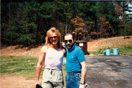 Lee Greenwood  and Marc Greenwood