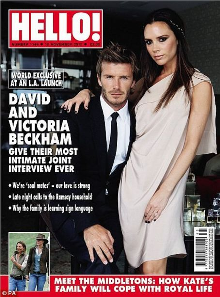 Victoria Beckham - Hello! Magazine [United Kingdom] (15 November 2010)