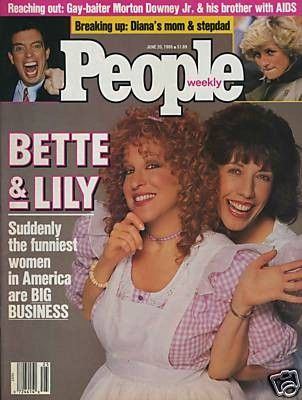 Lily Tomlin - People Magazine [United States] (June 1988)