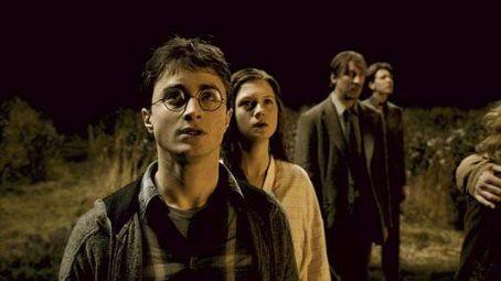 Ginny Weasley - Ginny watching her House Burn