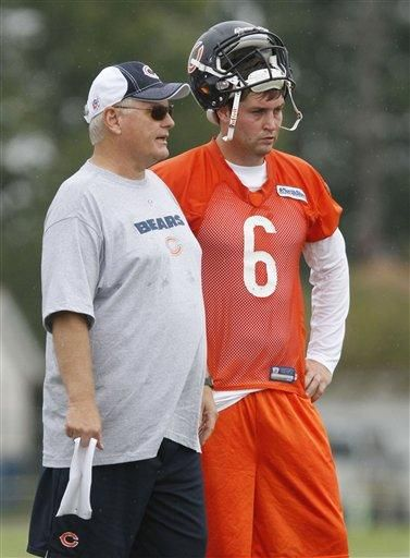 Jay Cutler  With Mike Martz
