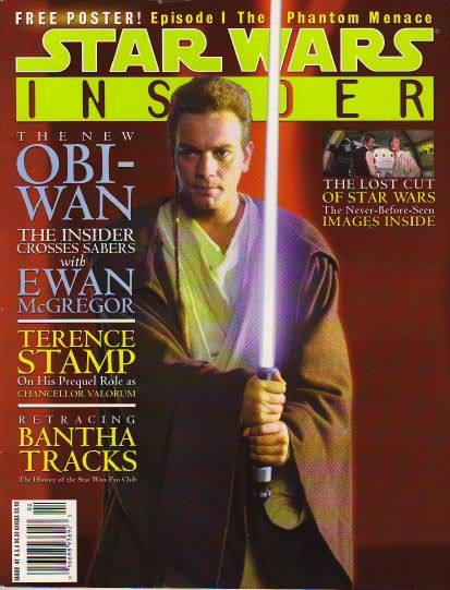 Ewan McGregor - Star Wars Insider Magazine [United States] (December 1999)