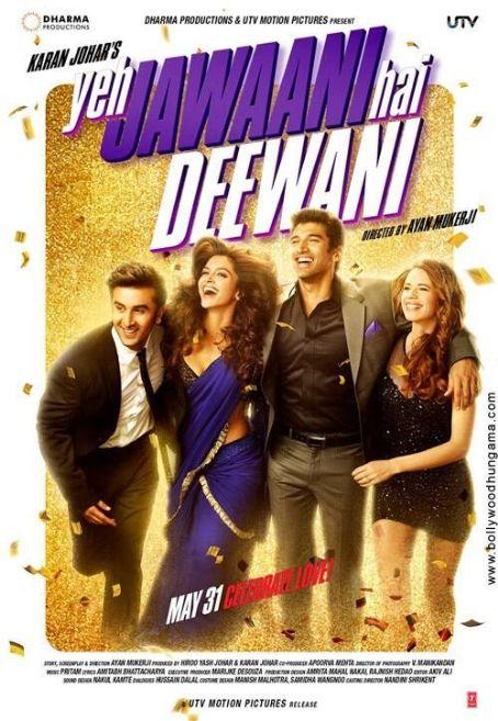 Aditya Roy Kapoor Yeh Jawaani Hai Deewani new released posters 2013