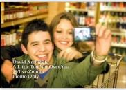 Fernanda Andrande and David Archuleta