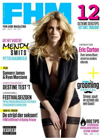 Mendy Smits - FHM Magazine Cover [Netherlands] (May 2012)