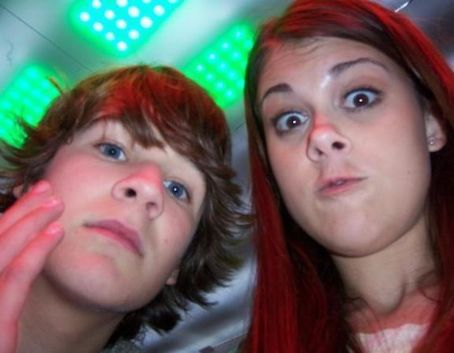 Devon Werkheiser and Lindsey Shaw