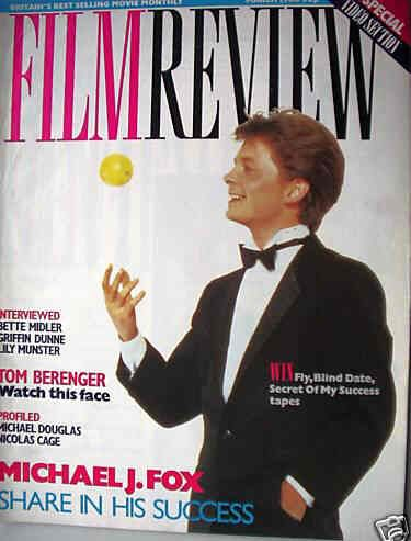 Michael J. Fox - Film Review Magazine [United Kingdom] (March 1988)