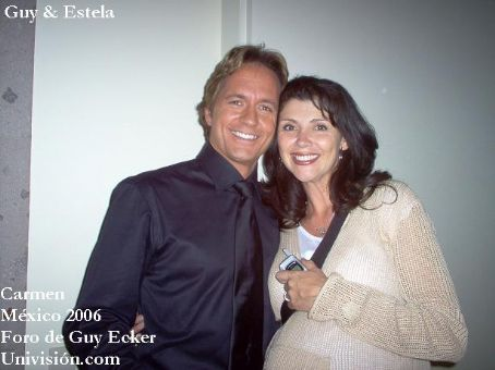 Estela Sainz Guy Ecker And