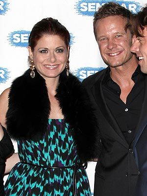 Inside Debra Messing's Budding Romance with Smash Costar