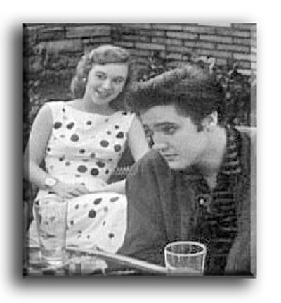 Joan Staley  & Elvis