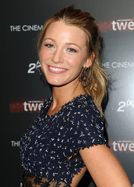 Twelve Blake Lively - Cinema Society & 2(x)ist Screening Of '' At Landmark's Sunshine Cinema On July 28, 2010 In New York City