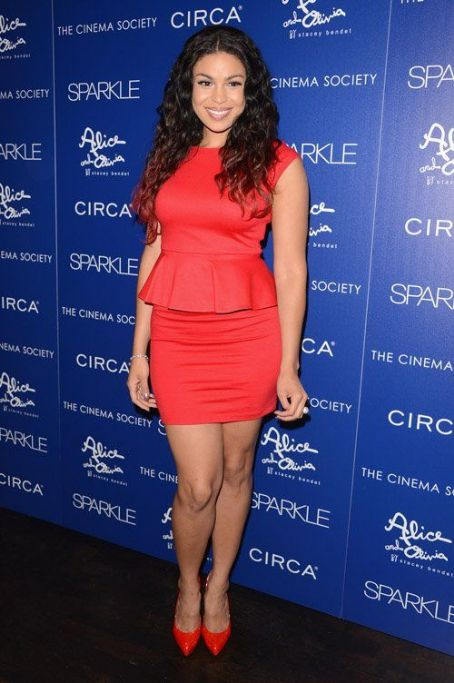 "Jordin Sparks is Red Hot at Big Apple ""Sparkle"" Screening"